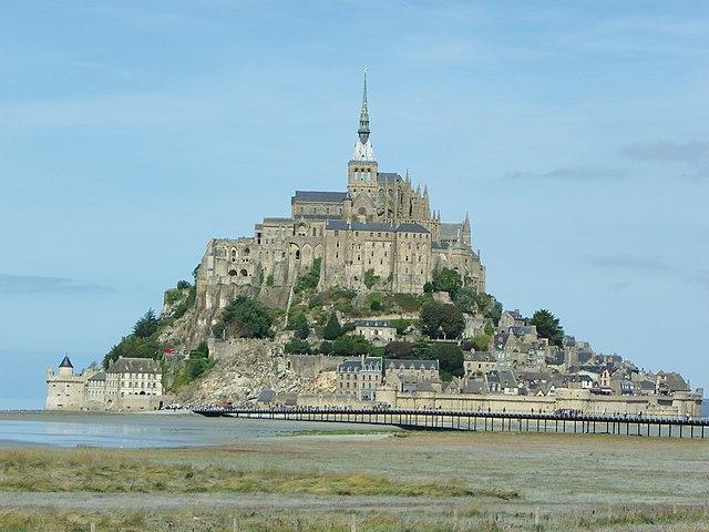 Le-sentier-des-pèlerins-Mont-Saint-Michel