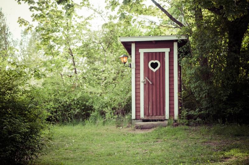 toilettes de camping