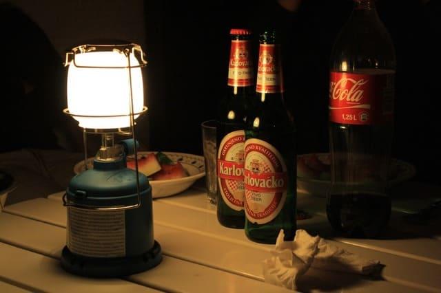 La-lampe-de-camping