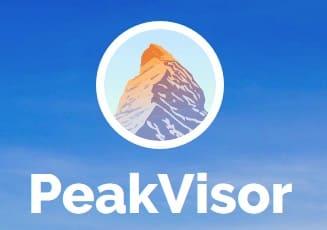 application-de-randonnee-PeakVisor-logo