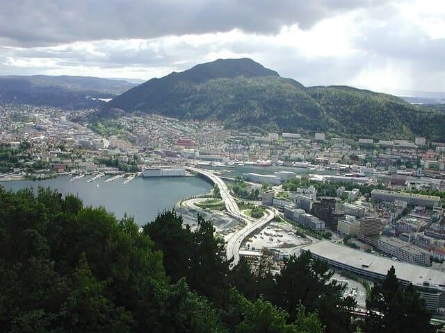 La-ville-de-Bergen